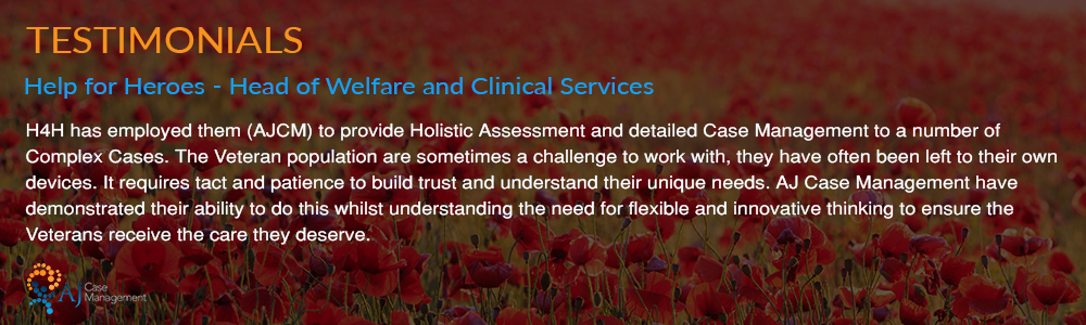 Help for Heroes Case Management Testimonial