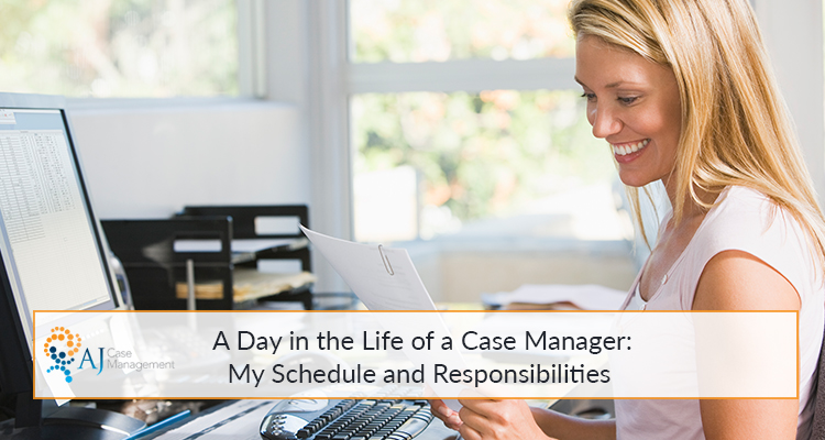 day in the life of case manager