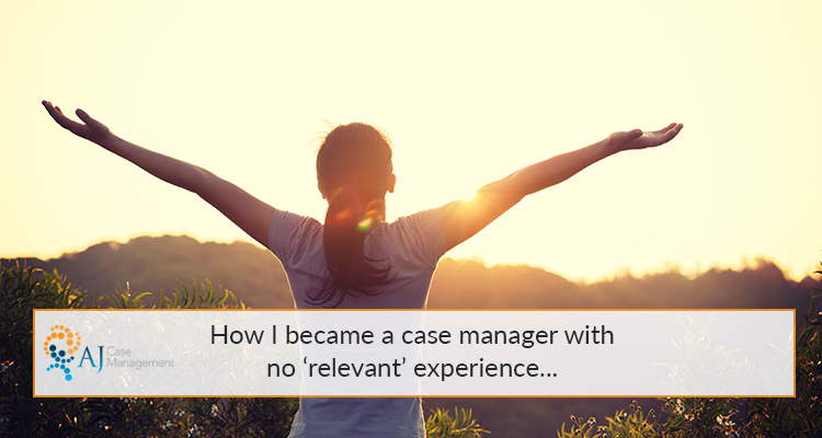 how to become a case manager with no experience